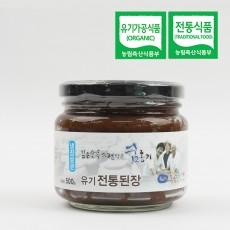 절골 유기전통된장 500g