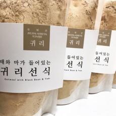서리태와 마가 들어 있는 귀리선식(500g)