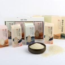 양평 유기농 진공포장 쌀 4종세트 (500gX4)